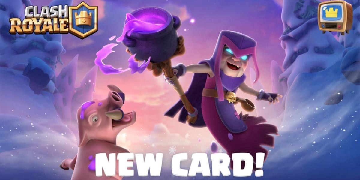 Mamá Bruja carta clash royale