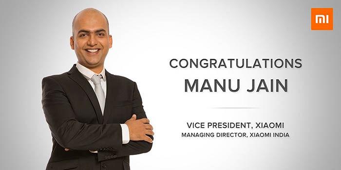 Manu Jain nuevo CEO Xiaomi