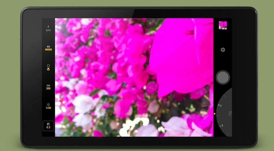 Manuel Camera se actualiza con soporte RAW para S6