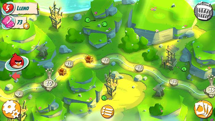 Mapa Angry Birds 2