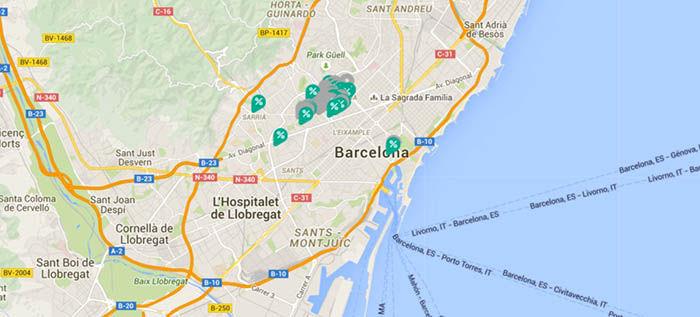 Mapa de Yaap Shopping