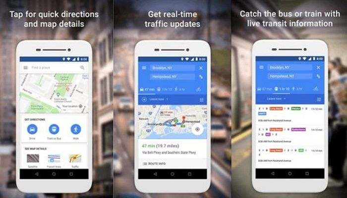 Maps Go app Android