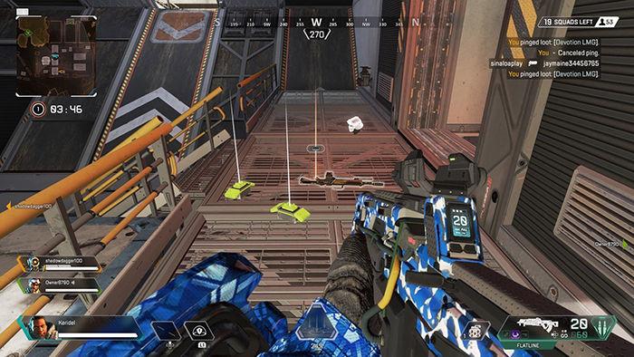 Marcar enemigos armas y balas Apex Legends