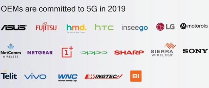 Marcas recibirán 5G