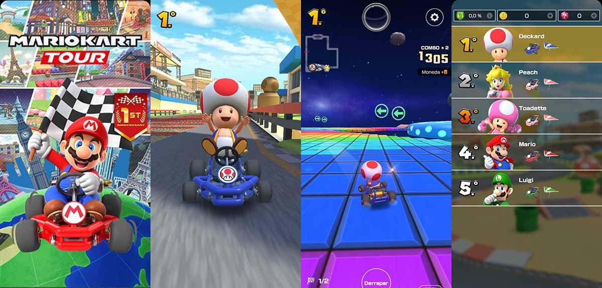 Mario Kart Tour un clásico de Nintendo que debes descargar