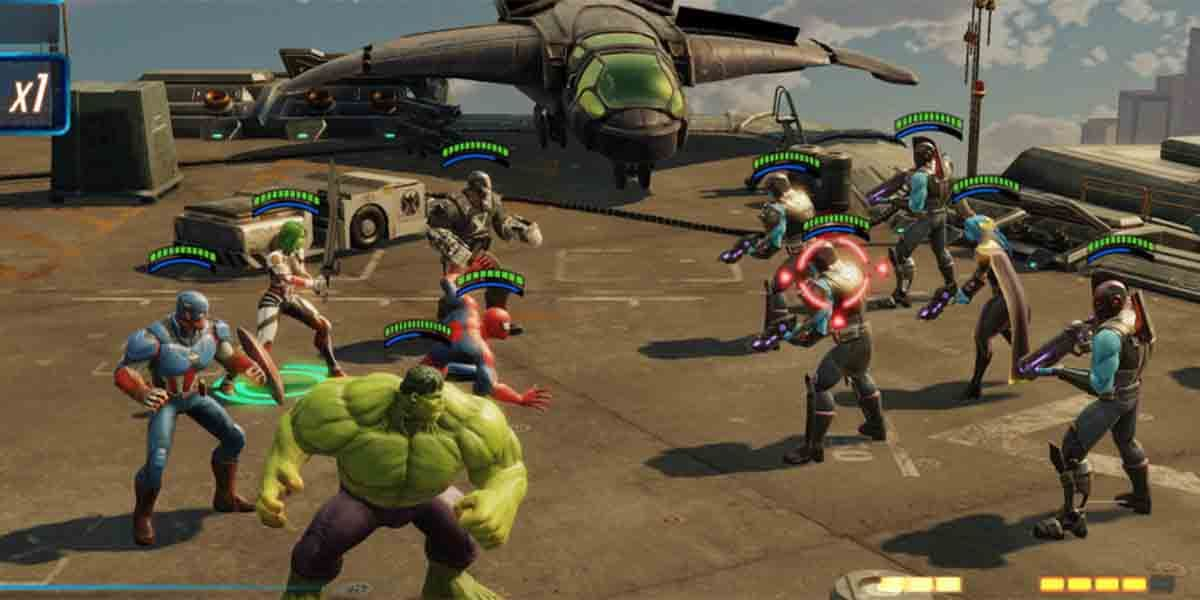 Marvel Strike Force juego gacha RPG Android