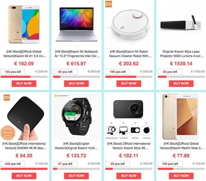 Más ofertas marzo geekbuying