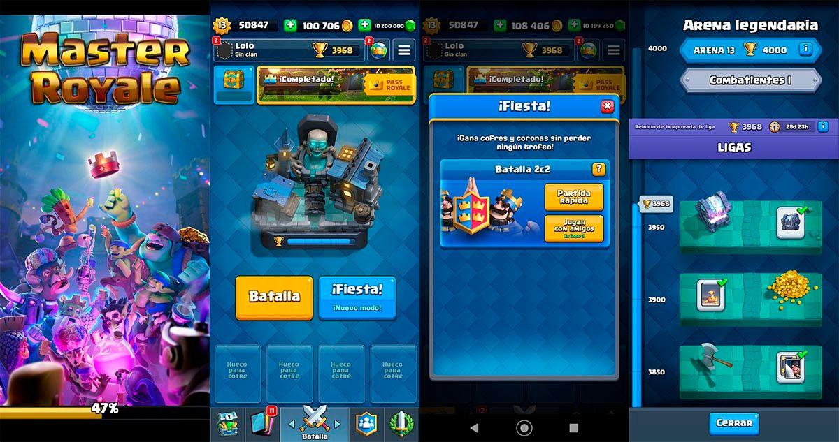 Master Royale para Android