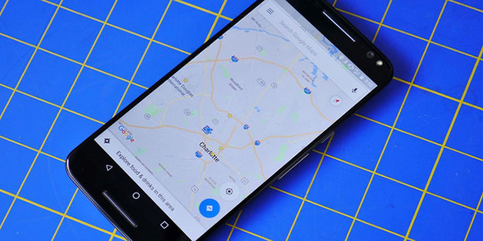Material Theme en Google Maps