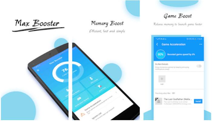 Max Booster para Android