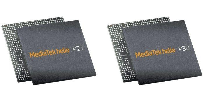 MediaTek nuevos procesadores Helio P23 P30