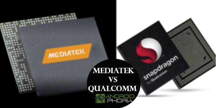 MediaTek vs Qualcomm competencia