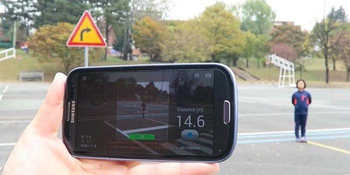 Medir distancia y objetos con la cámara móvil