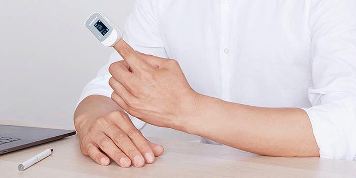 Medir oxígeno en sangre de Xiaomi