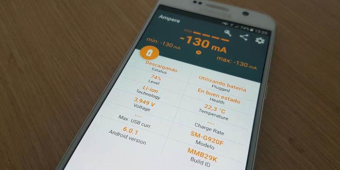 Medir salud bateria Android