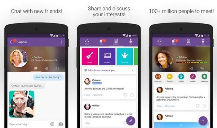aplicaciones para conocer gente android