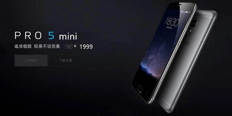 Meizu Pro 5 Mini filtración