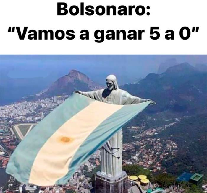 Mejor meme de Argentina campeon 2021