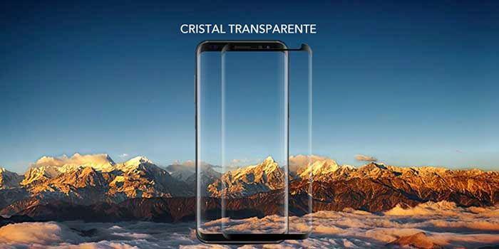 Mejor protector cristal templado curvo Galaxy S8