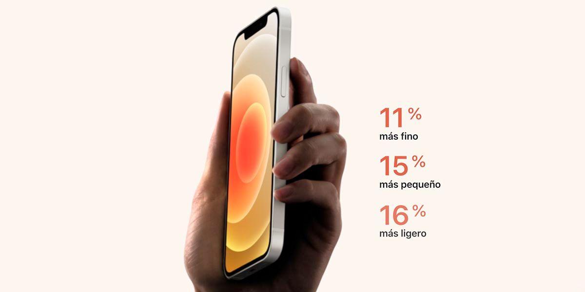 Mejora dimensiones iPhone 12