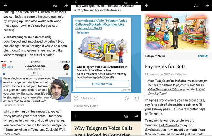 Mejoras Telegram 4