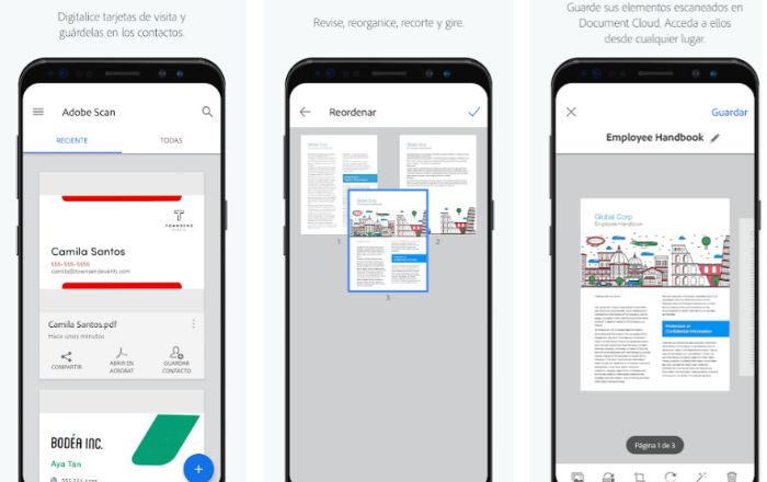 Mejores apps Android para escanear