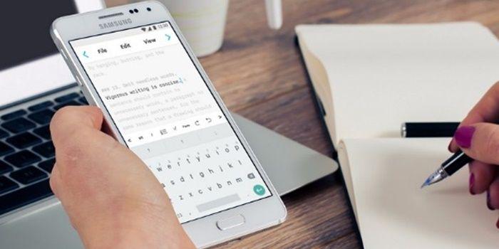 Mejores apps para escribir textos en Android