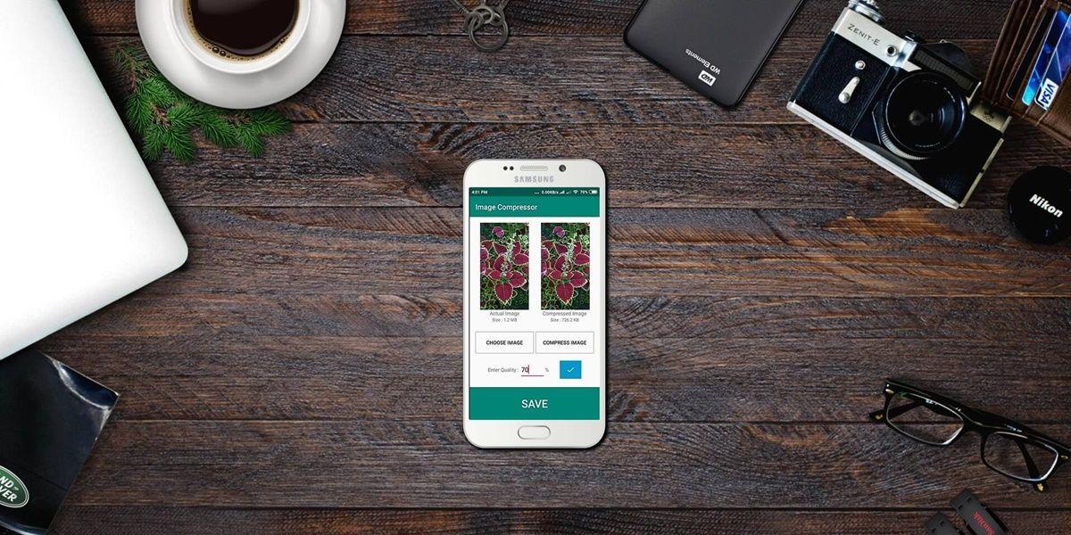Mejores apps para reducir tamano de fotos android