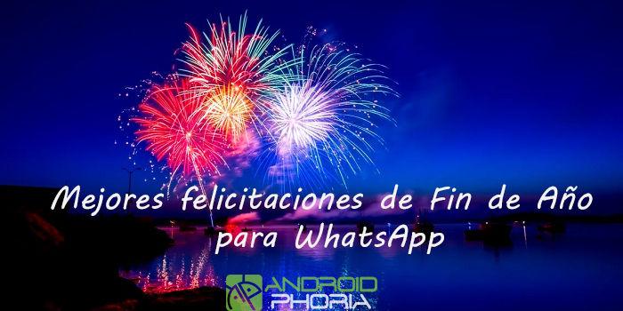 Mejores felicitaciones de Fin de Año para WhatsApp