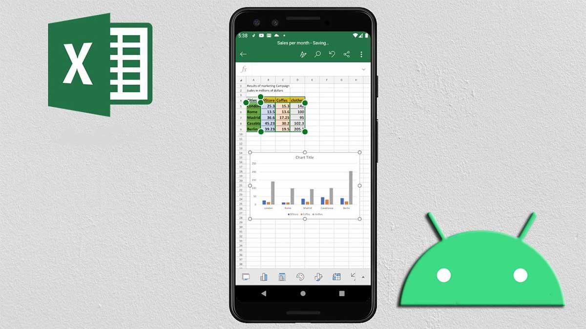 Mejores formas usar Excel en móvil Android