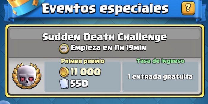 Mejores mazos para el Sudden Death Challenge