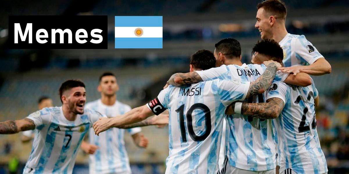 Mejores memes Argentina campeon 2021 Copa America