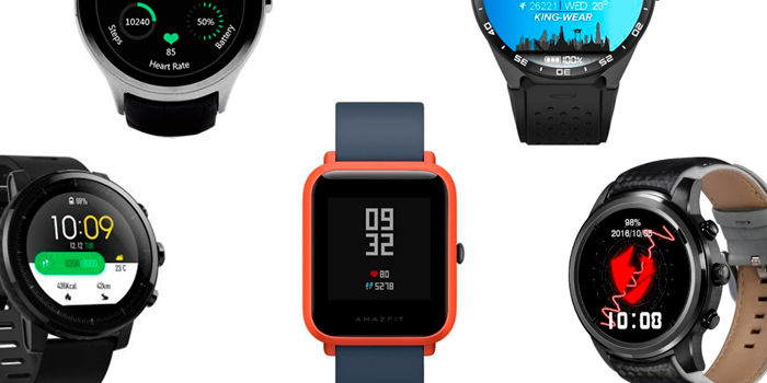 Mejores smartwatches chinos 2018