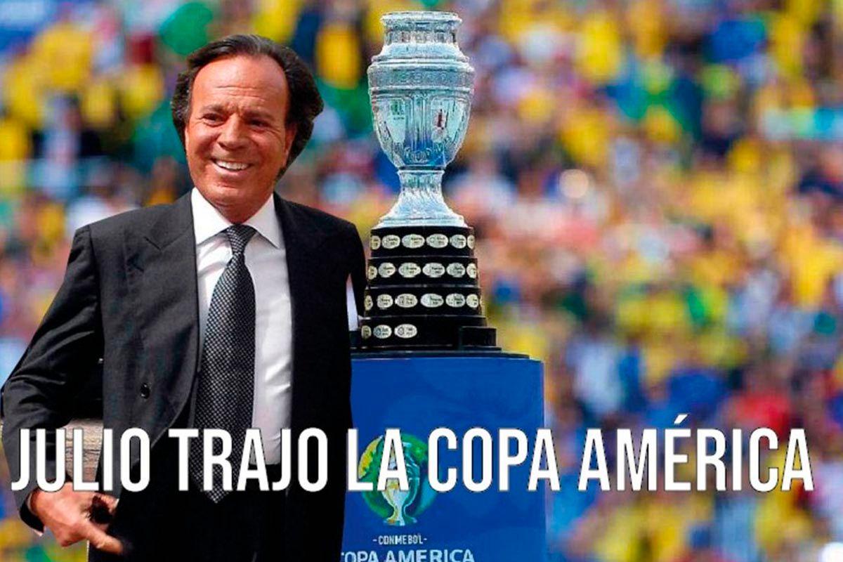 Meme Argentina campeon 2021 Copa America julio