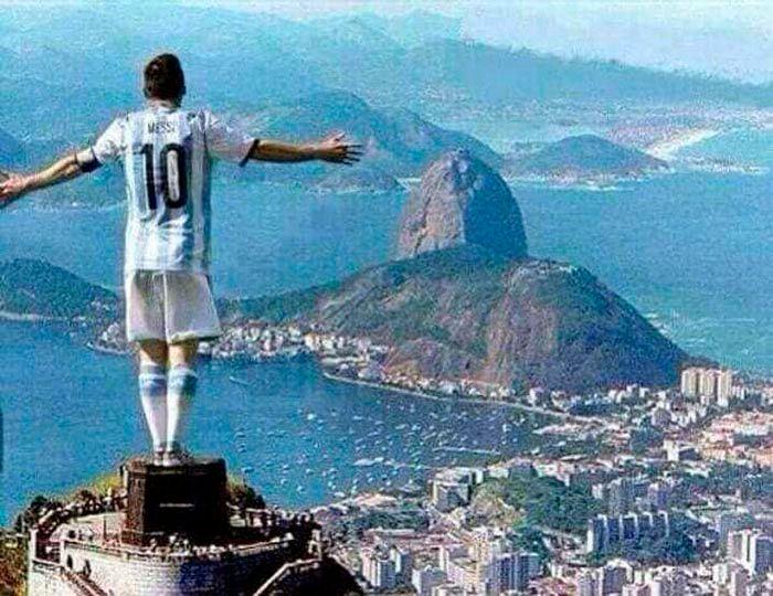 Meme Argentina campeon 2021