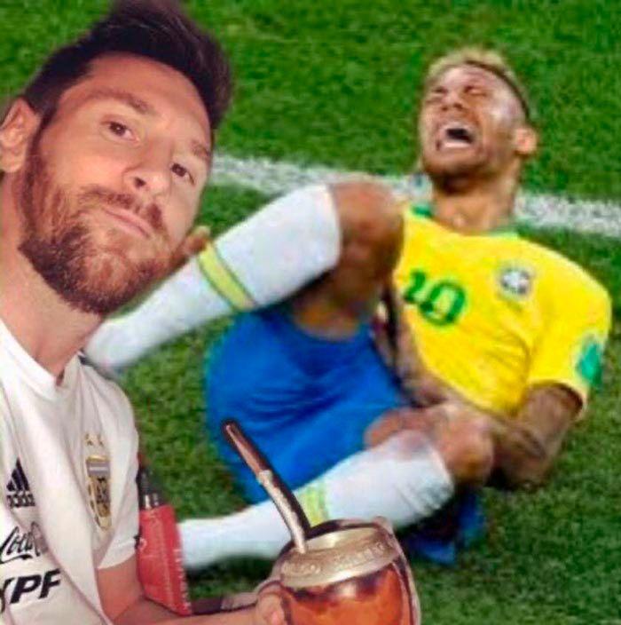 Meme Argentina campeon de la Copa America 2021
