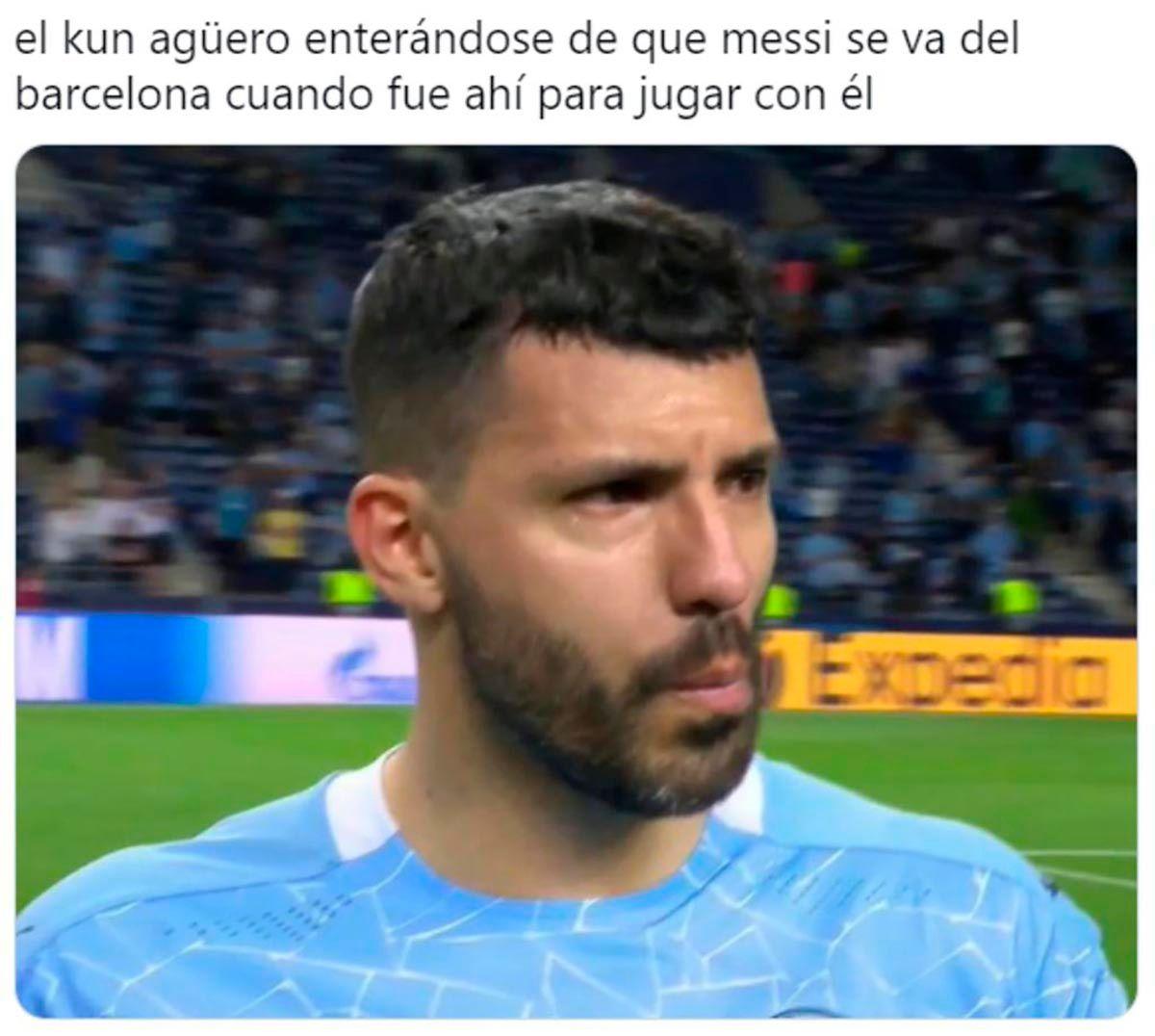Meme Messi Kun Barcelona