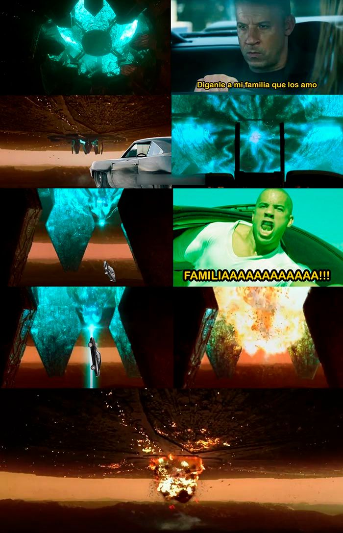 Meme Toretto la familia Dia de la independencia