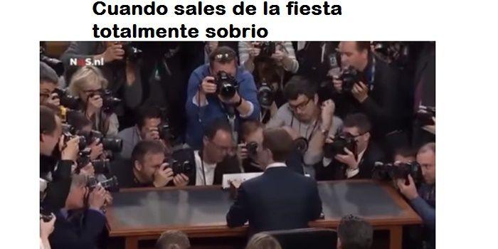 Meme Zuckerberg sobrio fiesta