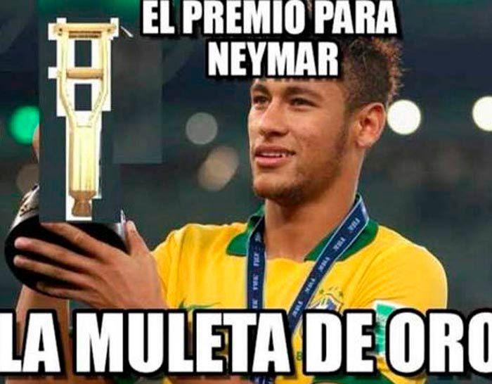 Meme de Neymar Copa America 2021