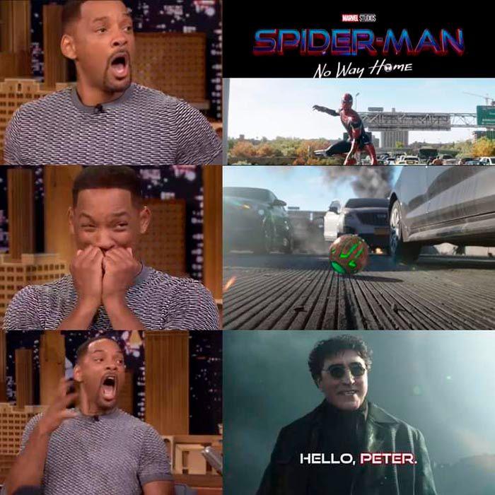 Meme de Spider Man No Way Home trailer