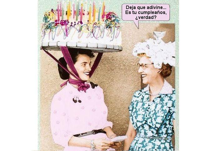 Meme de cumpleaños cuando eres indiscreto