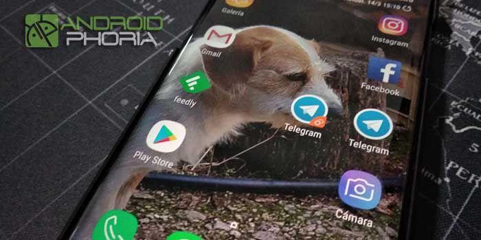 Mensajería dual Galaxy S9
