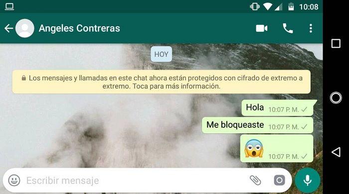 Mensajes sin doble check en WhatsApp