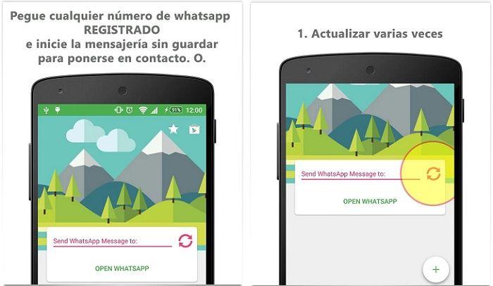 Mesej je de WhatsApp