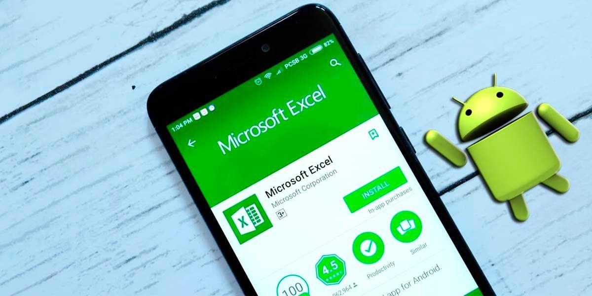 Métodos usar Excel Android