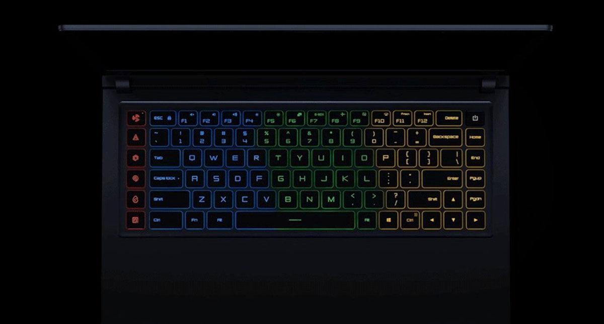 Mi gaming teclado
