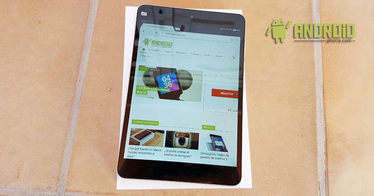 MiPad 2 Androidphoria