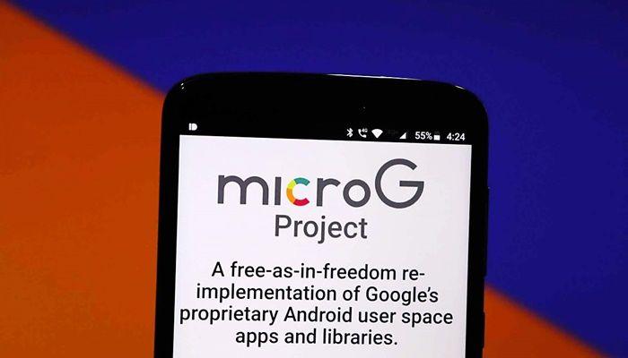MicroG android servicios de google play