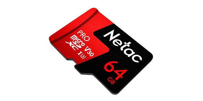MicroSD 64 GB Netac barata